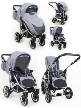 Travel System Stroller Pram Pushchair 2in1 3in1 Set Isofix New L-Go by SaintBaby