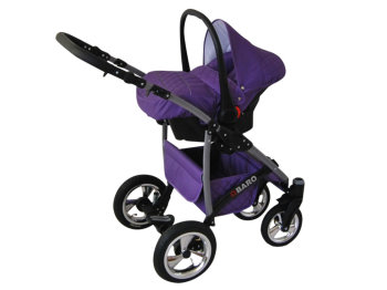 Kinderwagen 3in1 2in1 Set Isofix Buggy Autostoeltje Q-Step by SaintBaby