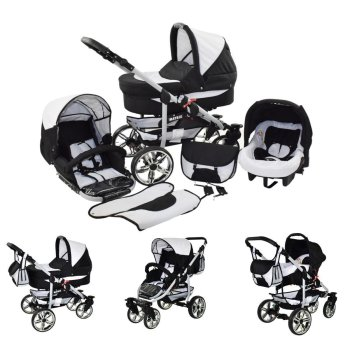 Passeggino Trio 3in1 2in1 Isofix Ovetto Compatto X-Car by...