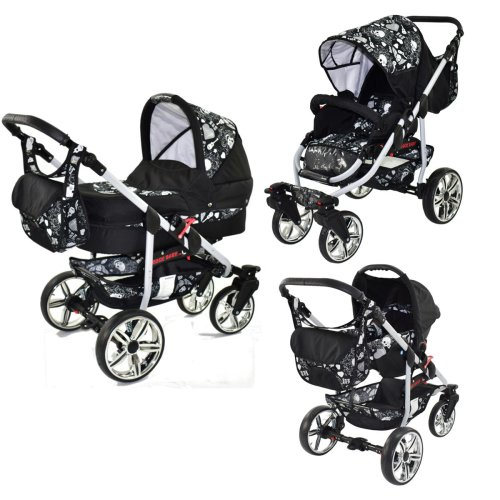 Kinderwagen 3in1 2in1 Set Isofix Buggy Autostoeltje Combo X-Rock By SaintBaby
