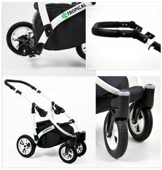 Travel System Stroller Pram Pushchair 2in1 3in1 Set Isofix Tropic by SaintBaby