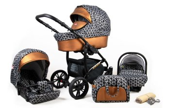 Travel System Stroller Pram Pushchair 2in1 3in1 Isofix...