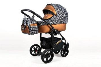 Kinderwagen 3in1 2in1 Isofix Buggy Babywanne Autositz...