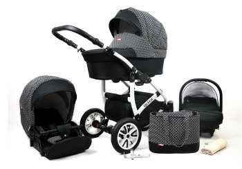 Kinderwagen 3in1 2in1 Set Isofix Buggy Autostoel Queen by...