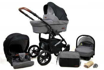 Passeggino Trio 3in1 2in1 Isofix Ovetto Compatto Maximum...