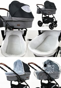 Kinderwagen 3in1 2in1 Set Isofix Buggy Autostoeltje Maximum by SaintBaby