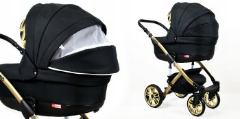 Passeggino Trio 3in1 2in1 Isofix Ovetto Compatto Luminus by SaintBaby