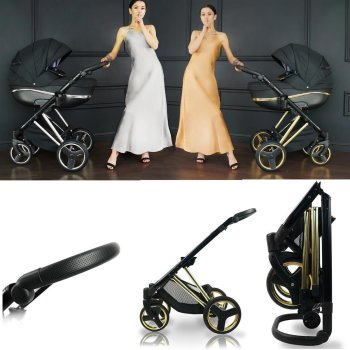 Kinderwagen 3in1 2in1 set Isofix buggy reiswieg...