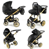 Travel System Stroller Pram Pushchair 2in1 3in1 Set Isofix Ottis Go by SaintBaby