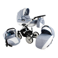 Kinderwagen 3in1 2in1 Set Isofix Buggy Babywanne Autositz Ottis We by SaintBaby