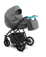 Kinderwagen 3in1 2in1 Set Isofix Buggy Baby Autostoeltje Zeo by SaintBaby