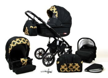 Travel System Pram Pushchair 2in1 3in1 Set Isofix Luminus...
