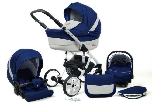 Travel System Stroller Pram Pushchair 3in1 Set Isofix Lilly by SaintBaby