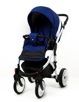 Travel System Stroller Pram Pushchair 3in1 Set Isofix...