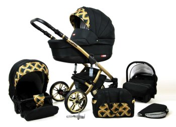 Kinderwagen 3in1 2in1 Set Isofix Buggy Autositz Luminus...