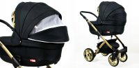 Travel System Pram Pushchair 2in1 3in1 Set Isofix Luminus Gold by SaintBaby