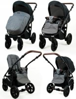 Travel System Stroller Pram Pushchair 2in1 3in1 Isofix Maximum W by SaintBaby