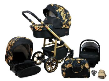 SaintBaby Stroller Pram Pushchair 2in1 3in1 Set all in...