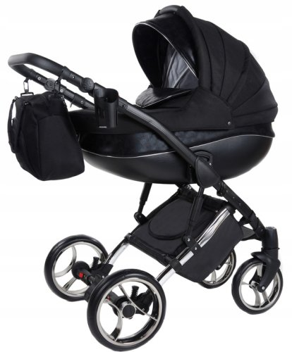 SaintBaby Pram Pushchair Travel System Cross X 2in1 3in1 Isofix Infant Car Seat combi buggy