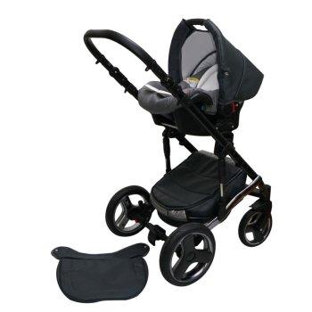 SaintBaby Kinderwagen Comodo 2in1 3in1 Isofix Babyschale Kombikinderwagen Buggy