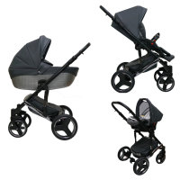 SaintBaby Pram Pushchair Travel System Comodo 2in1 3in1 Isofix Infant Car Seat combi buggy