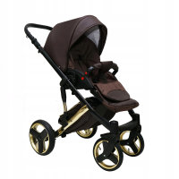SaintBaby Pram Pushchair Travel System Comodo Gold 2in1 3in1 Isofix Infant Car Seat combi buggy