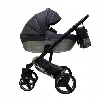 SaintBaby Pram Pushchair Travel System Comodo Silver 2in1...