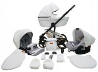 SaintBaby Pram Pushchair Travel System Comodo Copper 2in1 3in1 Isofix Infant Car Seat combi buggy