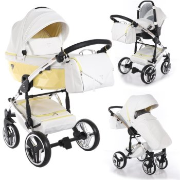 SaintBaby Pram Pushchair Travel System Junama Candy 2in1...