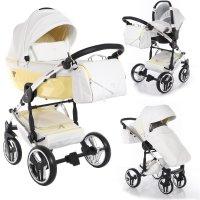 SaintBaby wandelwagen Junama Candy 2in1 3in1 Isofix baby-autostoeltje combi kinderwagen buggy