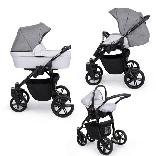 SaintBaby Pram Pushchair Travel System Verino 2in1 3in1 Isofix Infant Car Seat combi buggy