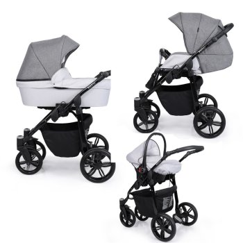 SaintBaby Pram Pushchair Travel System Verino 2in1 3in1...