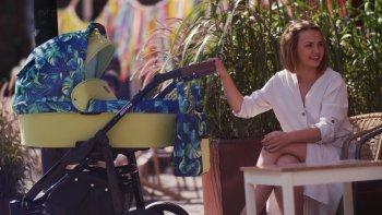 SaintBaby Stroller Ro-Tax White 2in1 3in1 Isofix babyzitje combi kinderwagen buggy