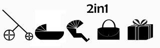 2en1 sans siège bébé