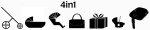 4in1 con Isofix + Silla