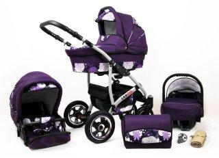 purple & flowers